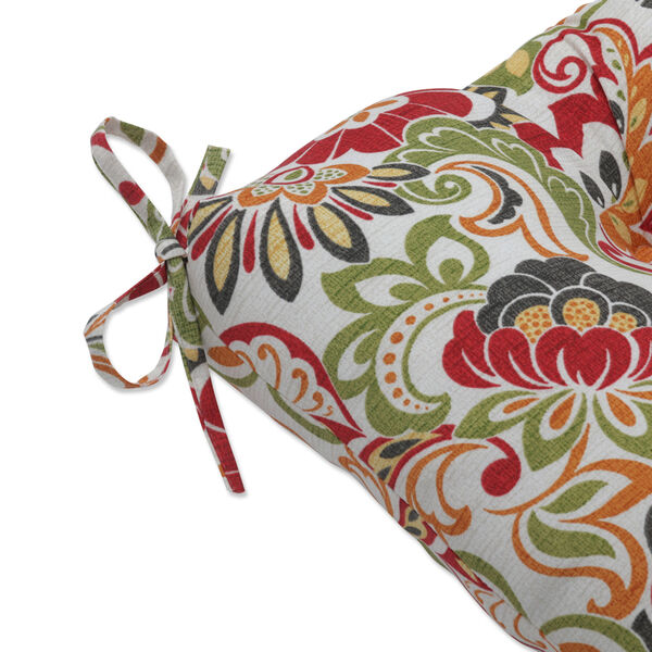 Zoe Green Red 48-Inch Bench Cushion, image 2