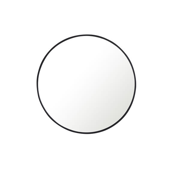 Eternity Black Round 32-Inch Mirror, image 2