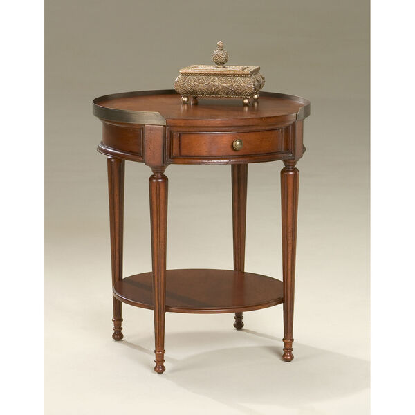 Plantation Cherry Accent Table, image 1