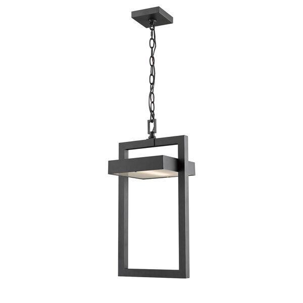Luttrel Black One-Light LED Outdoor Pendant, image 1