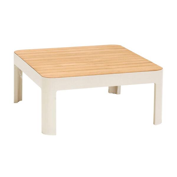 Portals Teak Matte Sand Three-Piece Outdoor Furniture Set, image 2