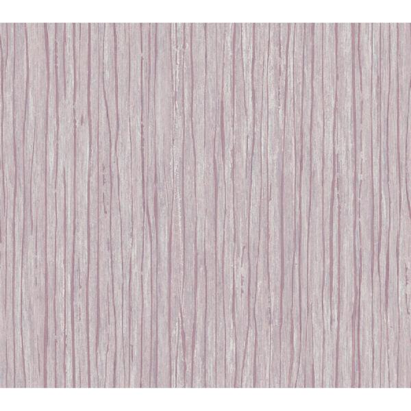 Antonina Vella Elegant Earth Berry Temperate Veil Stripes Wallpaper, image 2