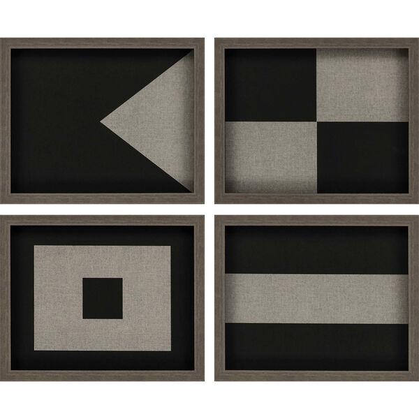 Nautical Flags I Neutral Framed Art, Set of Four, image 2
