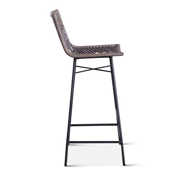 Bali Gray Whitewash Bar Chair, Set of 2, image 4