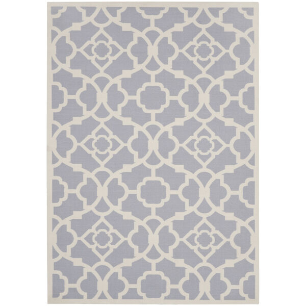 Sun and Shade Gray Indoor/Outdoor Area Rug, image 2