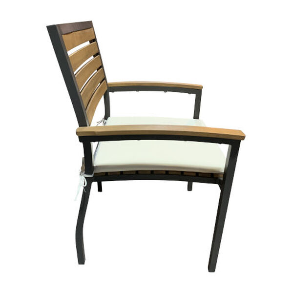 Boca Grande Outdoor Dining Arm Chair, Set of Two, image 3