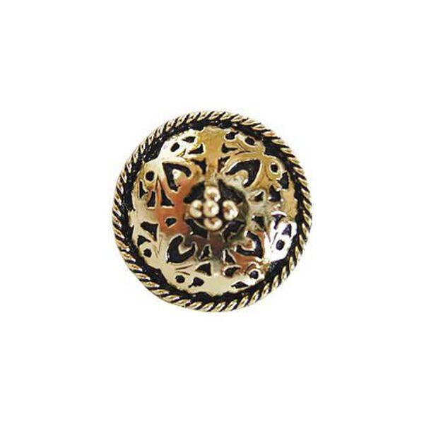 Brite Brass Moroccan Jewel Knob , image 1