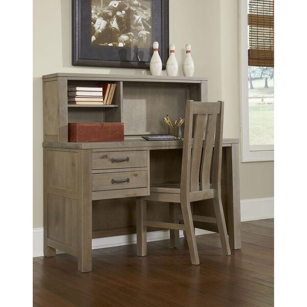 Highlands Driftwood Desk with Hutch, image 1