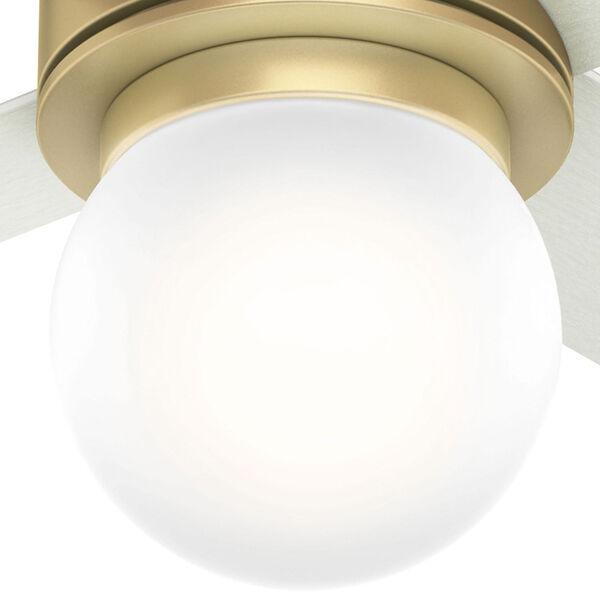 Hepburn Modern Brass 52-Inch One-Light LED Adjustable Ceiling Fan, image 3