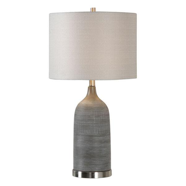 Nicollet Olive Bronze Ceramic Table Lamp, image 1