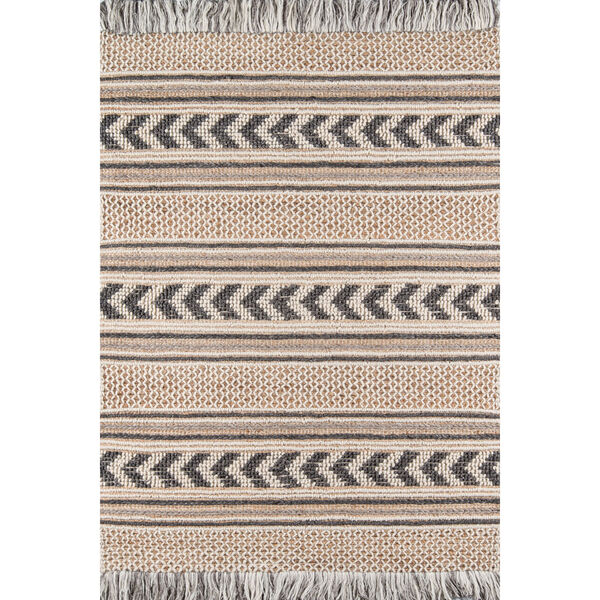 Esme Charcoal Rectangular: 3 Ft. 9 In. x 5 Ft. 9 In. Rug, image 1