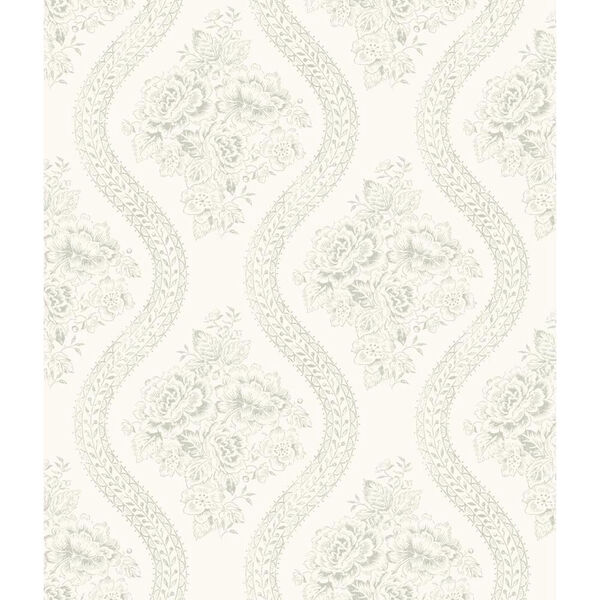 Coverlet Floral Removable Wallpaper- SAMPLE SWATCH ONLY, image 1