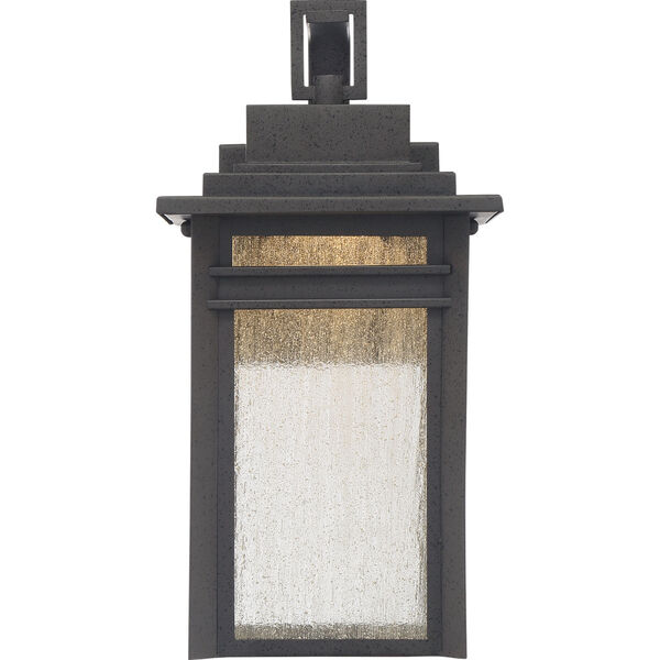 Beacon 14-Inch Stone Black LED Outdoor Wall Sconce, image 3