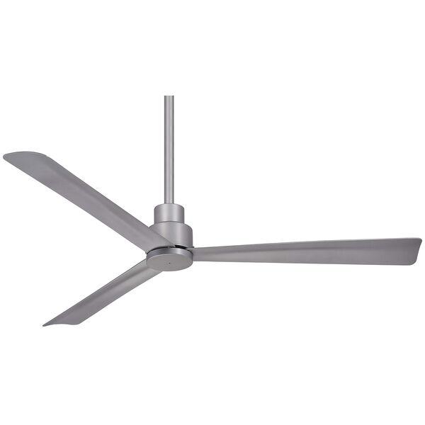 Simple Silver Ceiling Fan, image 1