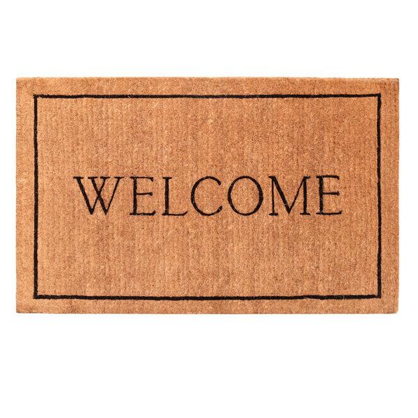 Welcome Border 30 x 48 Inch Doormat, image 1
