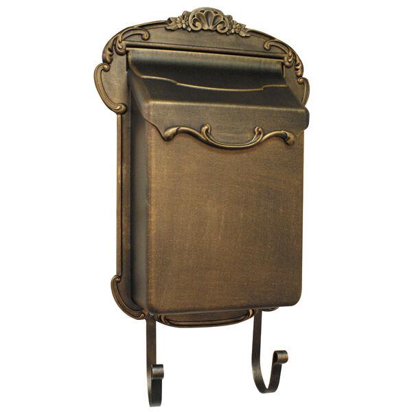 Victoria Vertical Bronze Mailbox, image 1