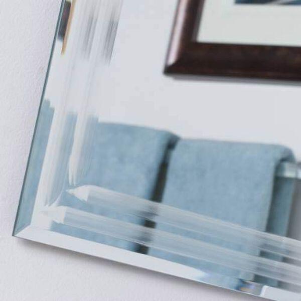 Frameless Tri-bevel Wall Mirror, image 3