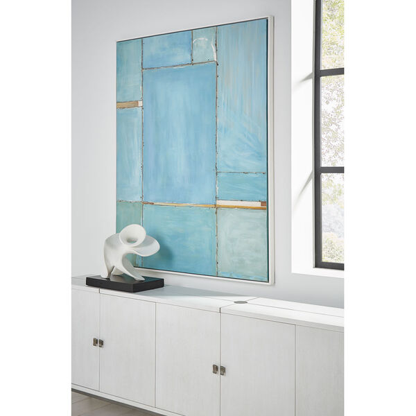 White 16-Inch Edna Sculpture, image 5