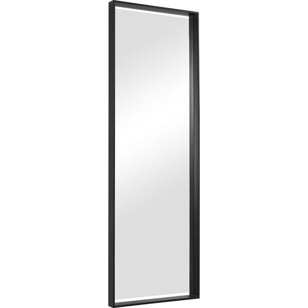 Kahn Black Rectangular Mirror, image 4