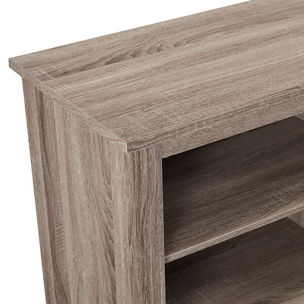 70-inch Fireplace TV Stand - Driftwood, image 2