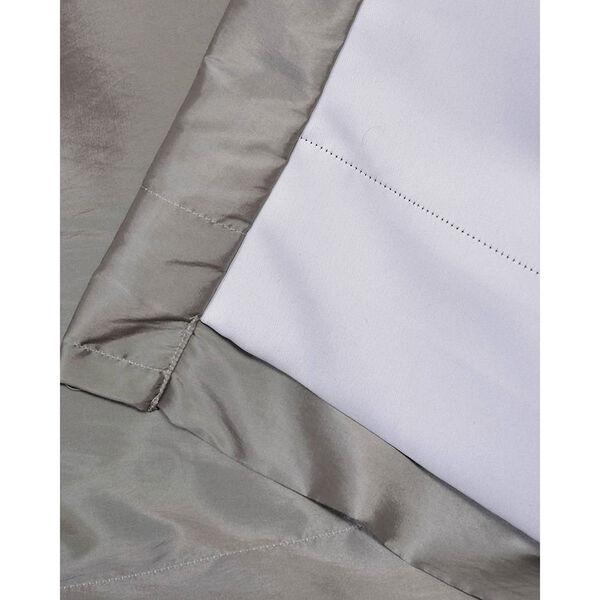 Platinum 84 x 50-Inch Grommet Blackout Faux Silk Taffeta Curtain Single Panel, image 5