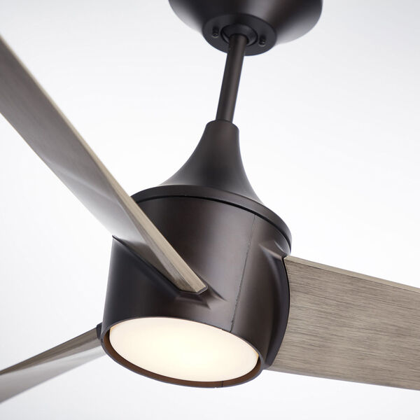 Riptide Oil Rubbed Bronze 52-Inch LED Indoor Outdoor Ceiling Fan, image 4