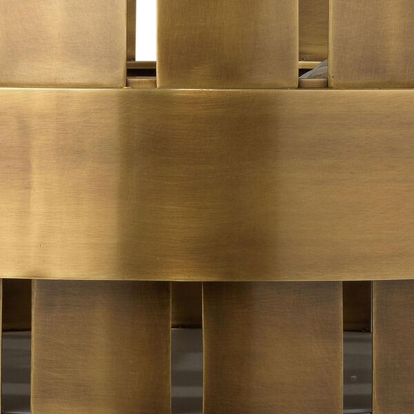 Orbit Antique Brass Four-Light Chandelier, image 5