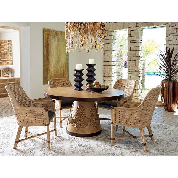 Los Altos Brown Weston Round Dining Table, image 2