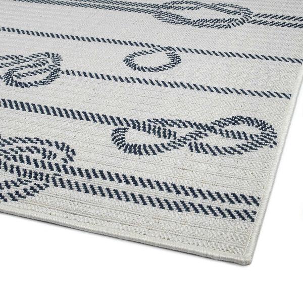 Puerto White Gray Knot Indoor/Outdoor Rug, image 5
