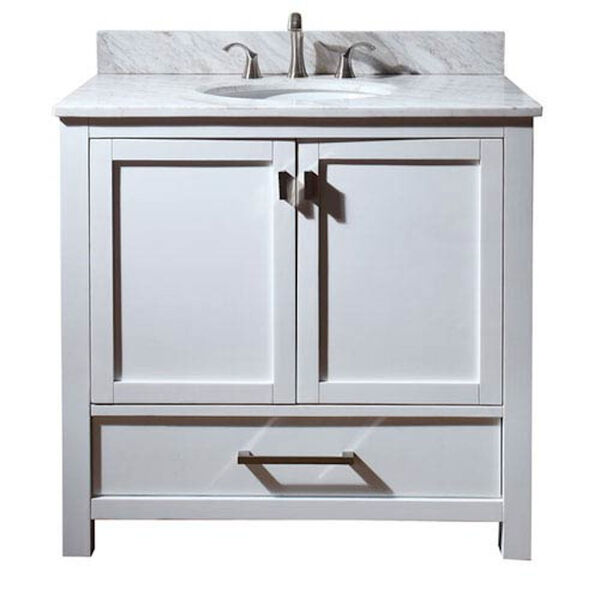 Modero 36-Inch Vanity Only in White Finish, image 1