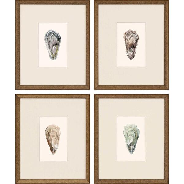 Ocean Blades Neutral Framed Art, Set of Four, image 2
