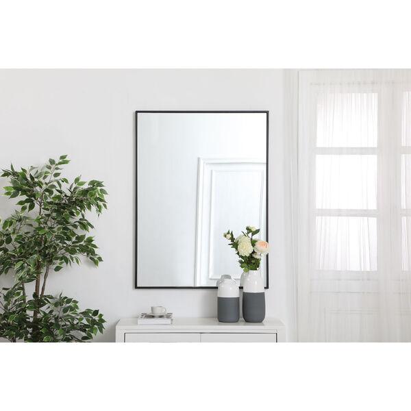 Eternity Rectangular Mirror with Metal Frame, image 2