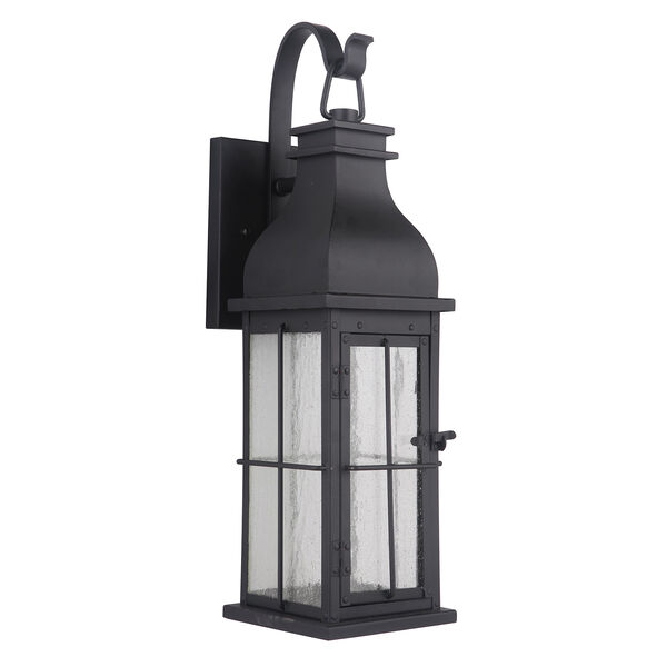 Vincent Midnight Seven-Inch LED Outdoor Wall Lantern, image 2