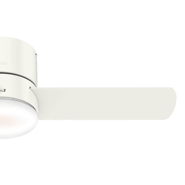 Minimus Low Profile Fresh White 44-Inch LED Ceiling Fan, image 4