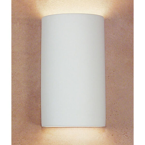 Great Tenos Bisque Flush Wall Sconce, image 1