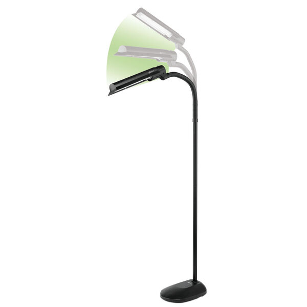 Black Wing Shade LED Floor Lamp, image 5