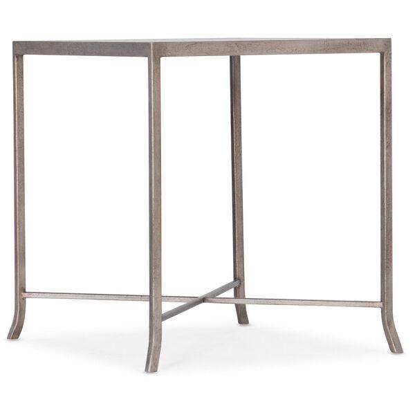 Alfresco Light Silver End Table, image 1
