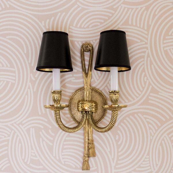 Arlington Olde Brass Two-Light Wall Sconce, image 2