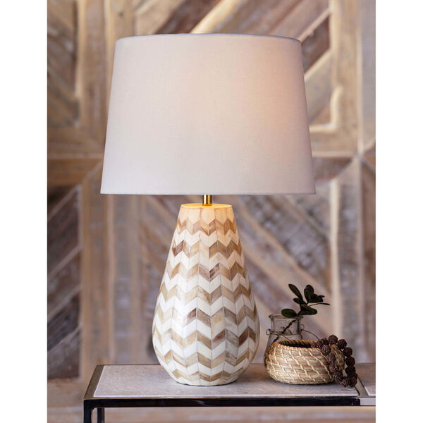 Cassia Natural One-Light Table Lamp, image 2