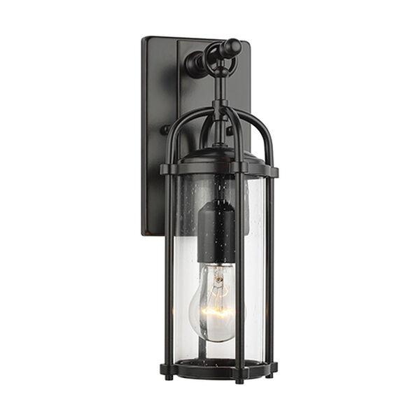 Derry Espresso One-Light Wall Lantern, image 1