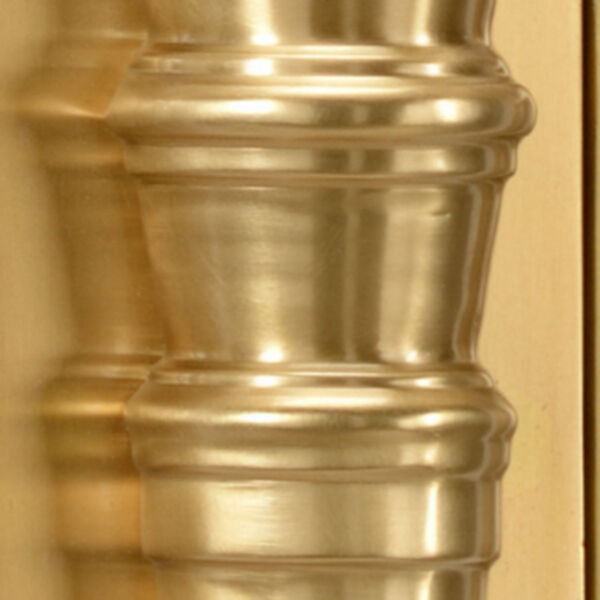 Orpheum Antique Brass and Charcoal Wall Sconce, image 4