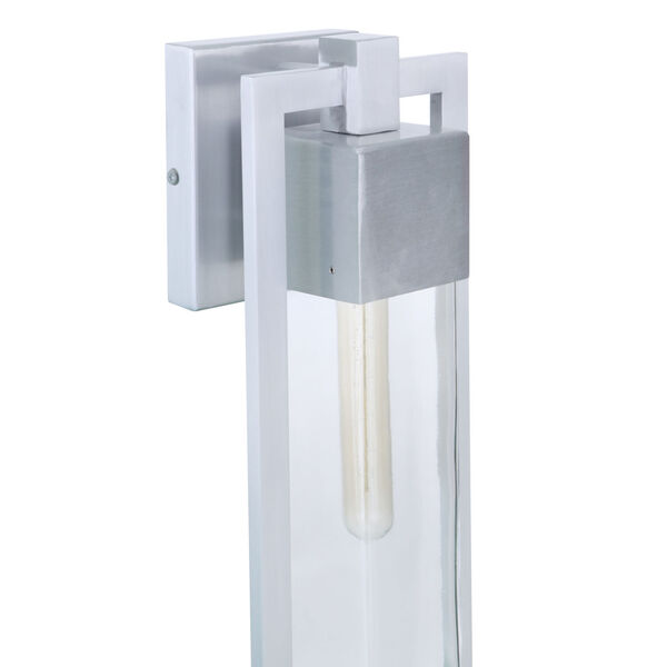Perimeter Satin Aluminum 19-Inch One-Light Outdoor Wall Sconce, image 6