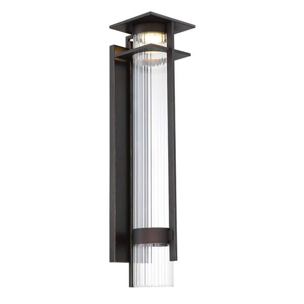 Kittner Oil Rubbed Bronze Six-Inch One-Light Outdoor Wall Sconce, image 1