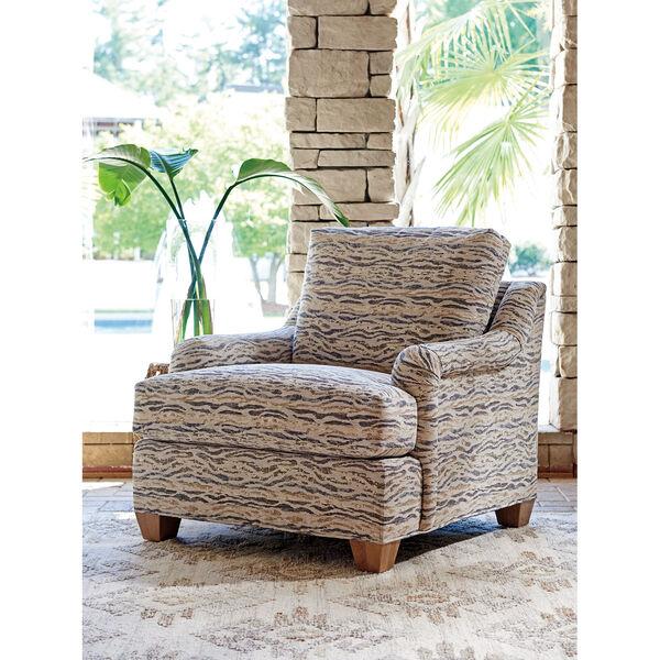 Los Altos Gold and Beige Barton Chair, image 2