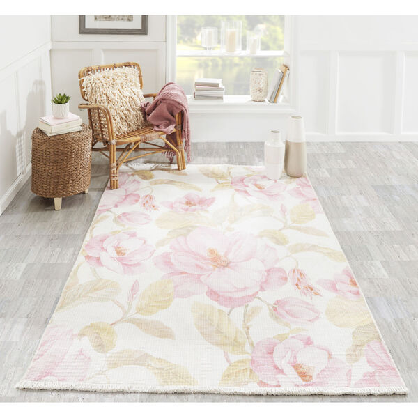 Helena Floral Multicolor Runner: 2 Ft. 6 In. x 8 Ft., image 2