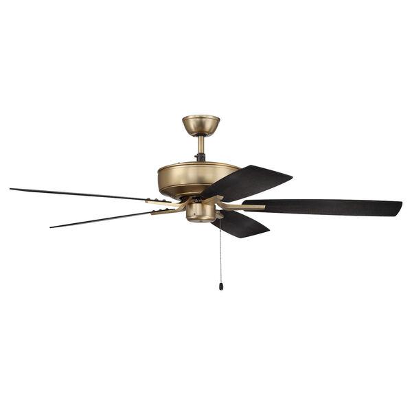 Pro Plus Satin Brass 52-Inch Ceiling Fan, image 1