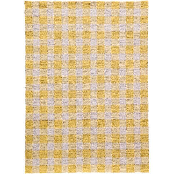 Geo Yellow Rectangular: 7 Ft. 6 In. x 9 Ft. 6 In. Rug, image 1