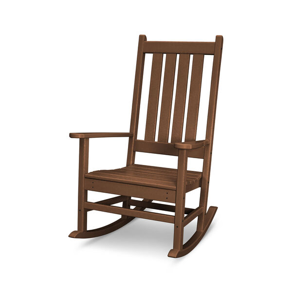 Vineyard Teak Porch Rocking Chair, image 1