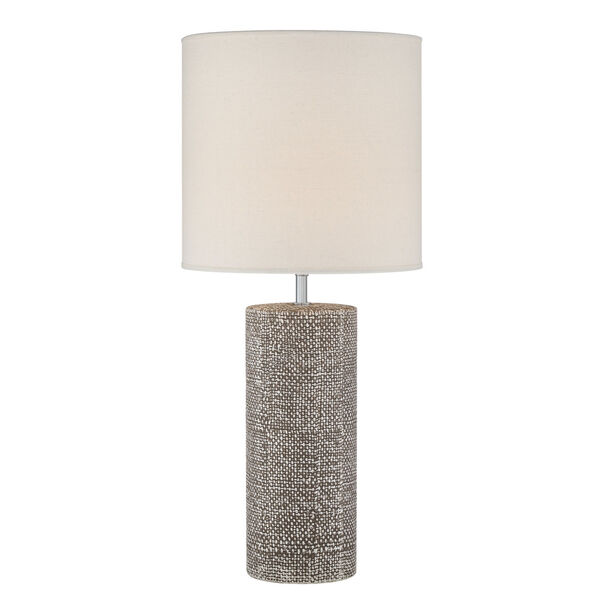Dustin Dark Brown One-Light Table Lamp, image 1