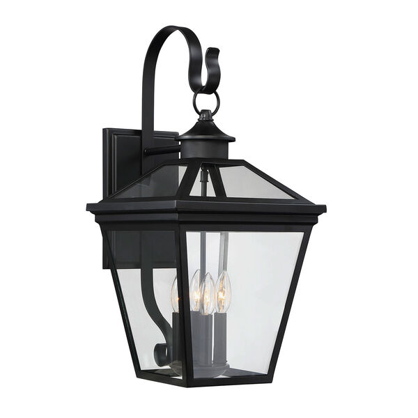 Kenwood Black Four-Light Outdoor Wall Sconce, image 2